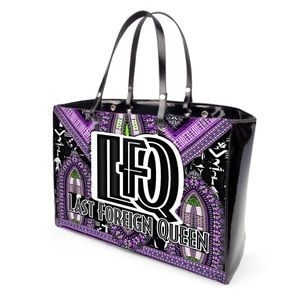 Last Foreign Queen Print Hand Bag